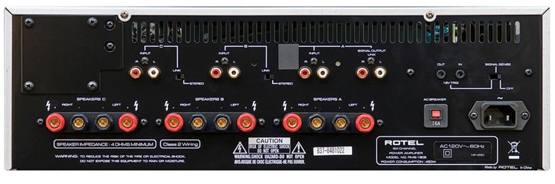 Rotel RMB-1506 6-Channel Power Amplifier